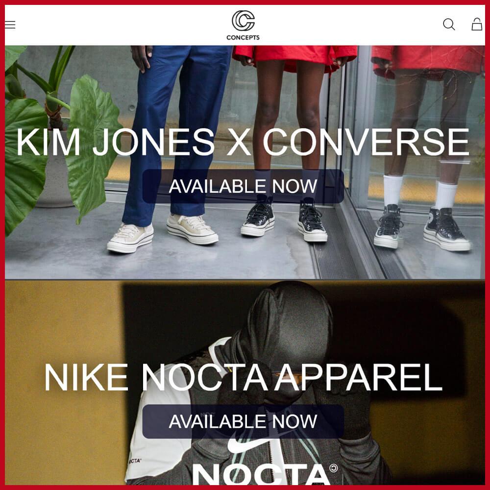 CONCEPTS best sneaker websites