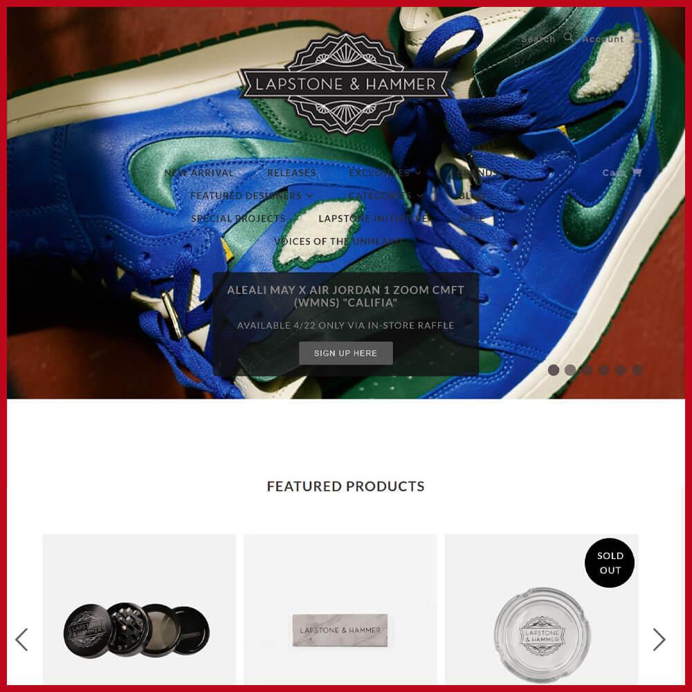 LAPSTONE & HAMMER sneaker website