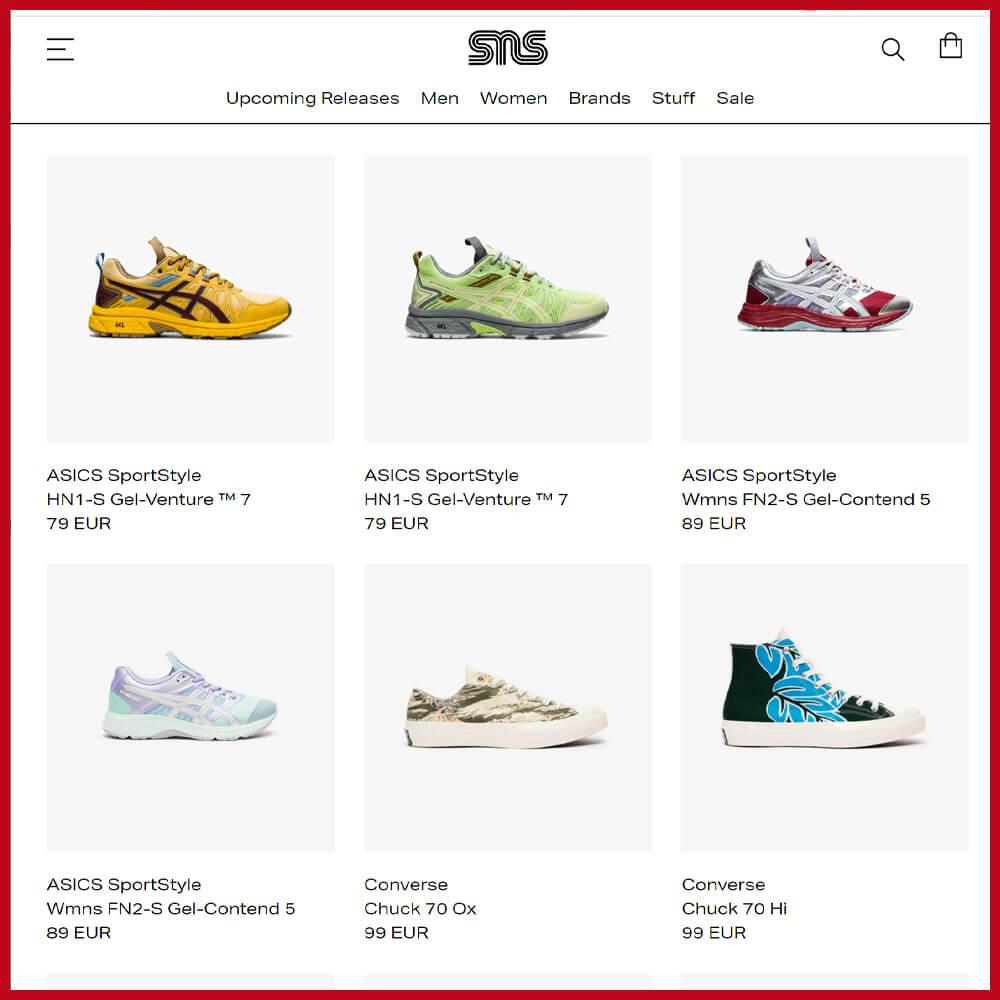 SNEAKERSNSTUFF best sneaker websites