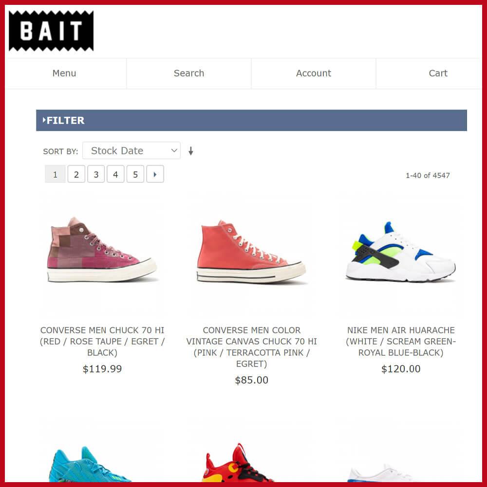 Bait best sneaker online store