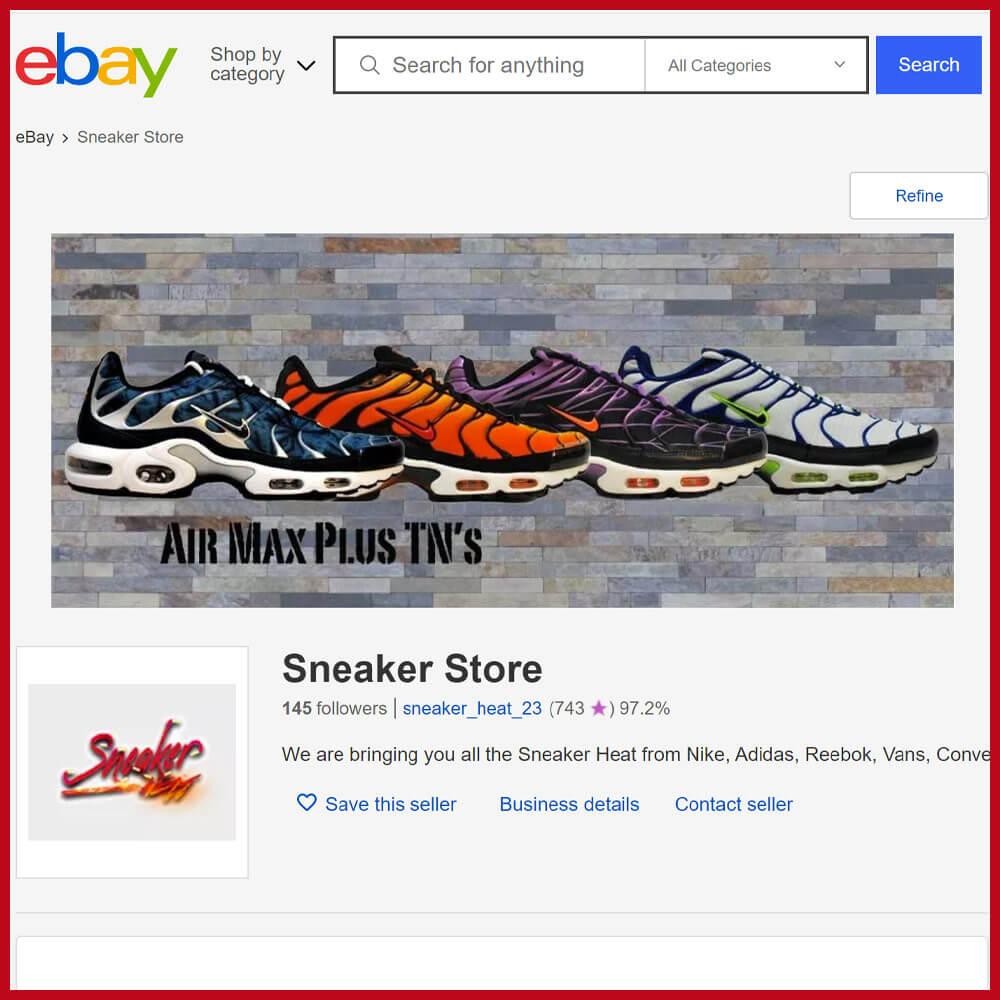 ebay online sneaker shop