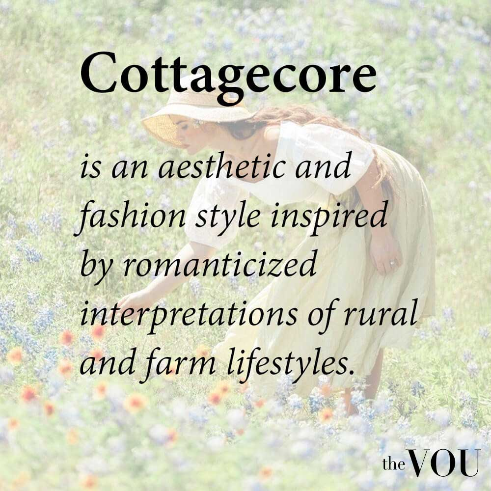 What is Cottagecore