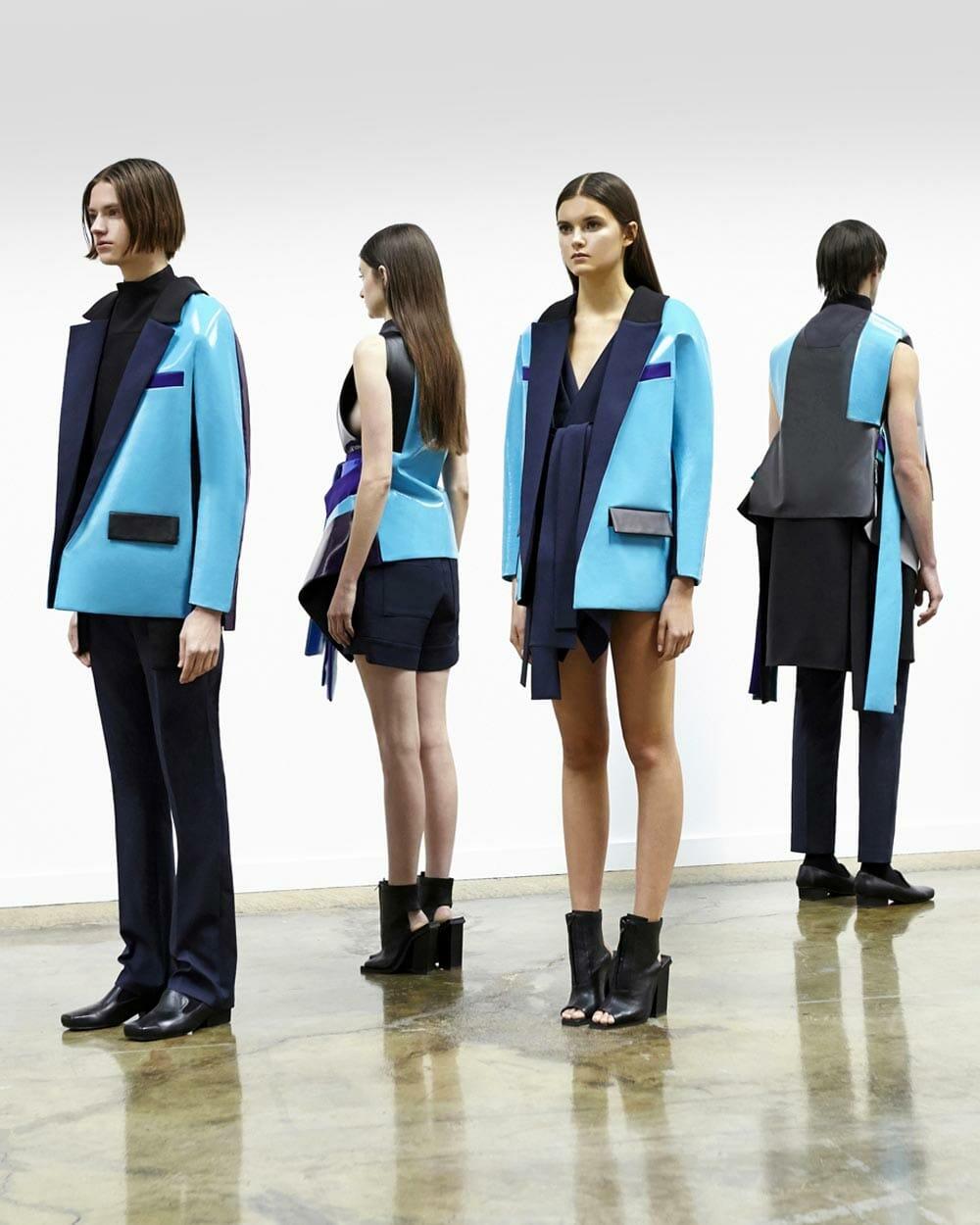 Rad Hourani Androgynous designer clothing