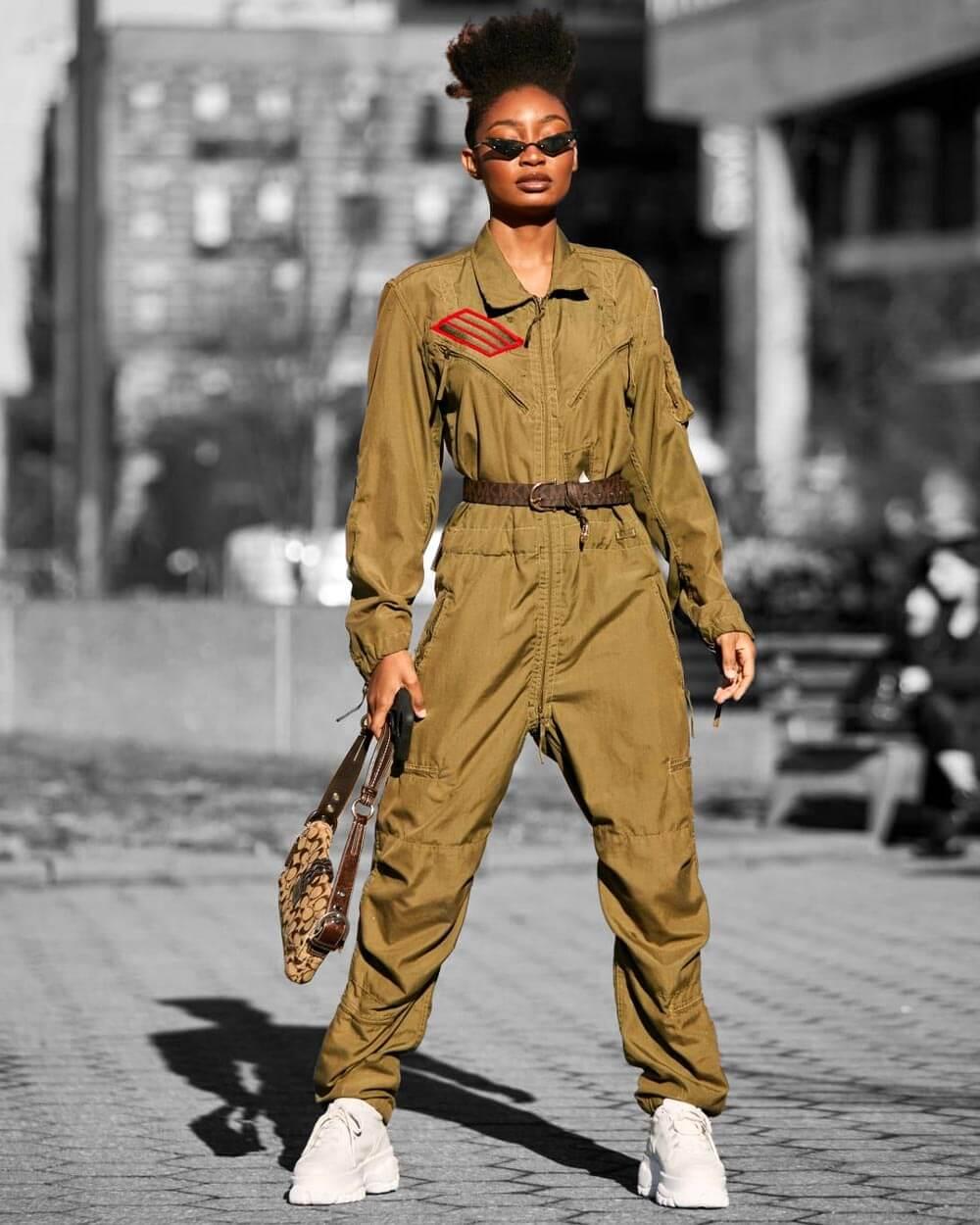 Boiler suits fashion trends 2021