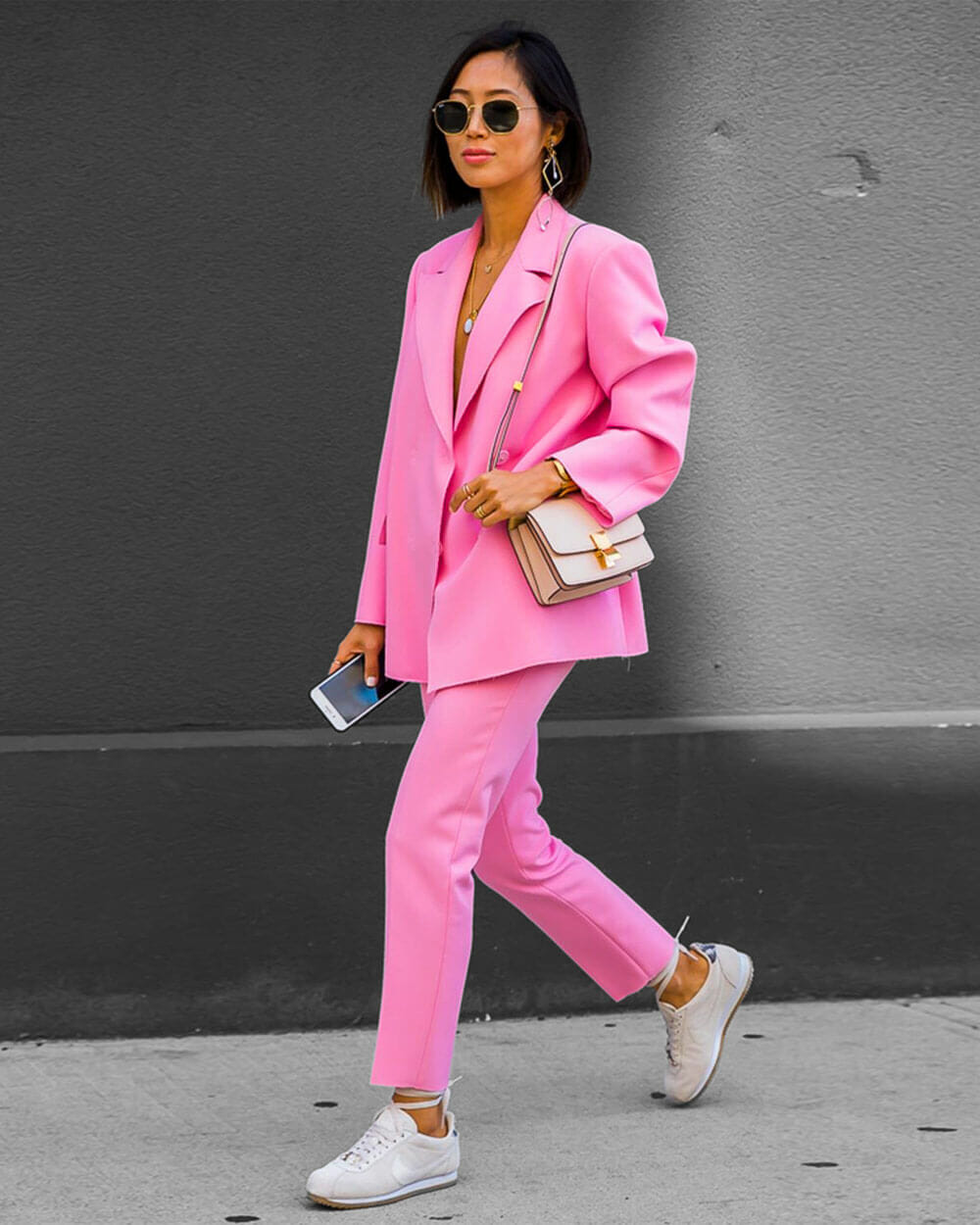 Bubblegum Pink fashion trend 2021