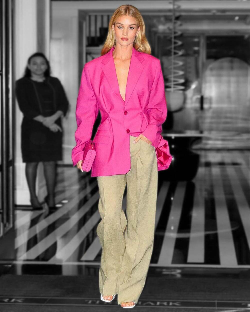 Color blocking fashion trends 2021