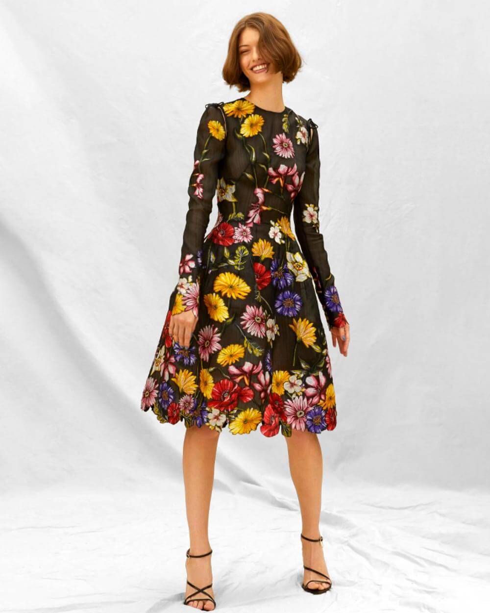 Fantasy Floral current fashion trends 2021