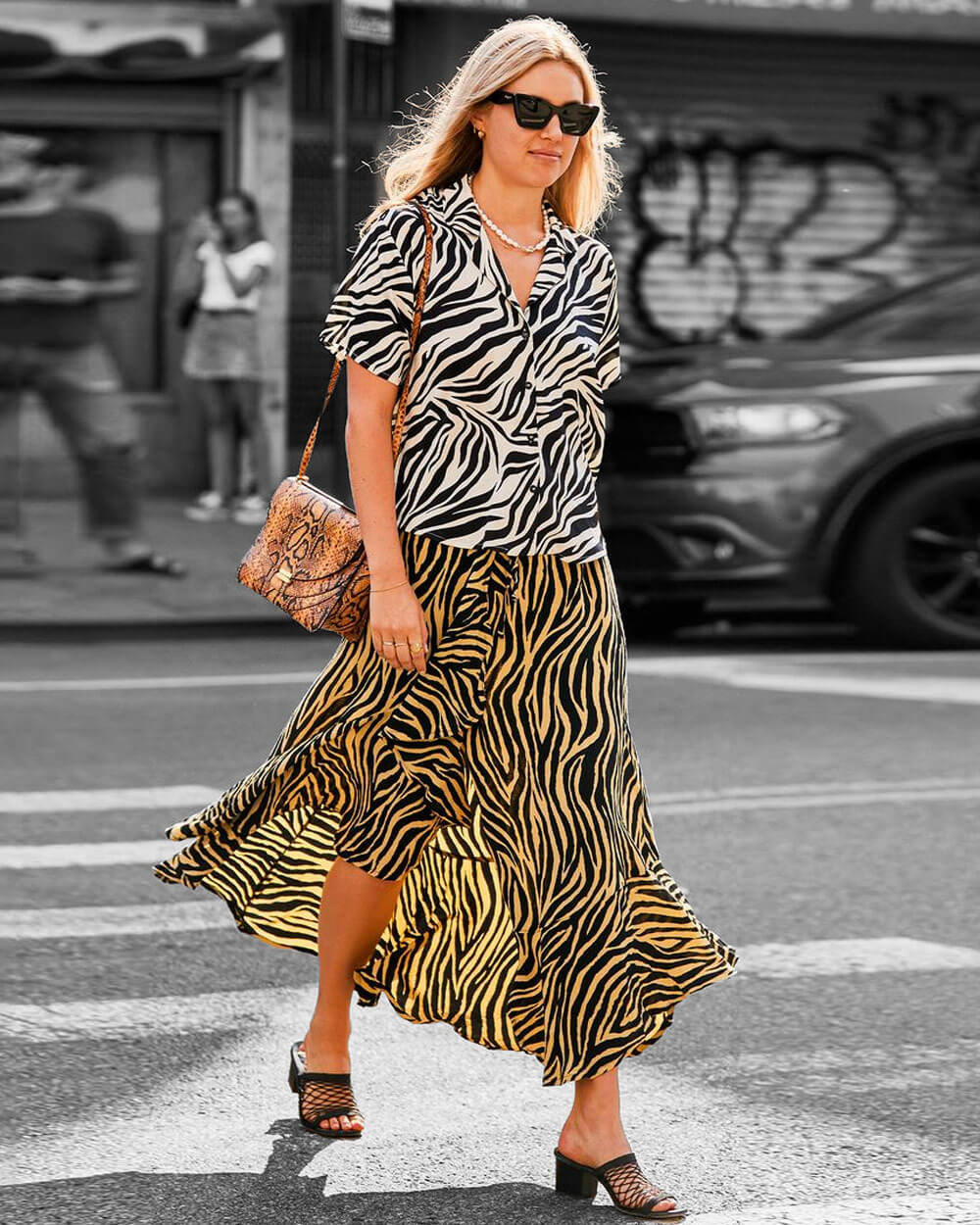 Tiger prints fashion trends of 2021