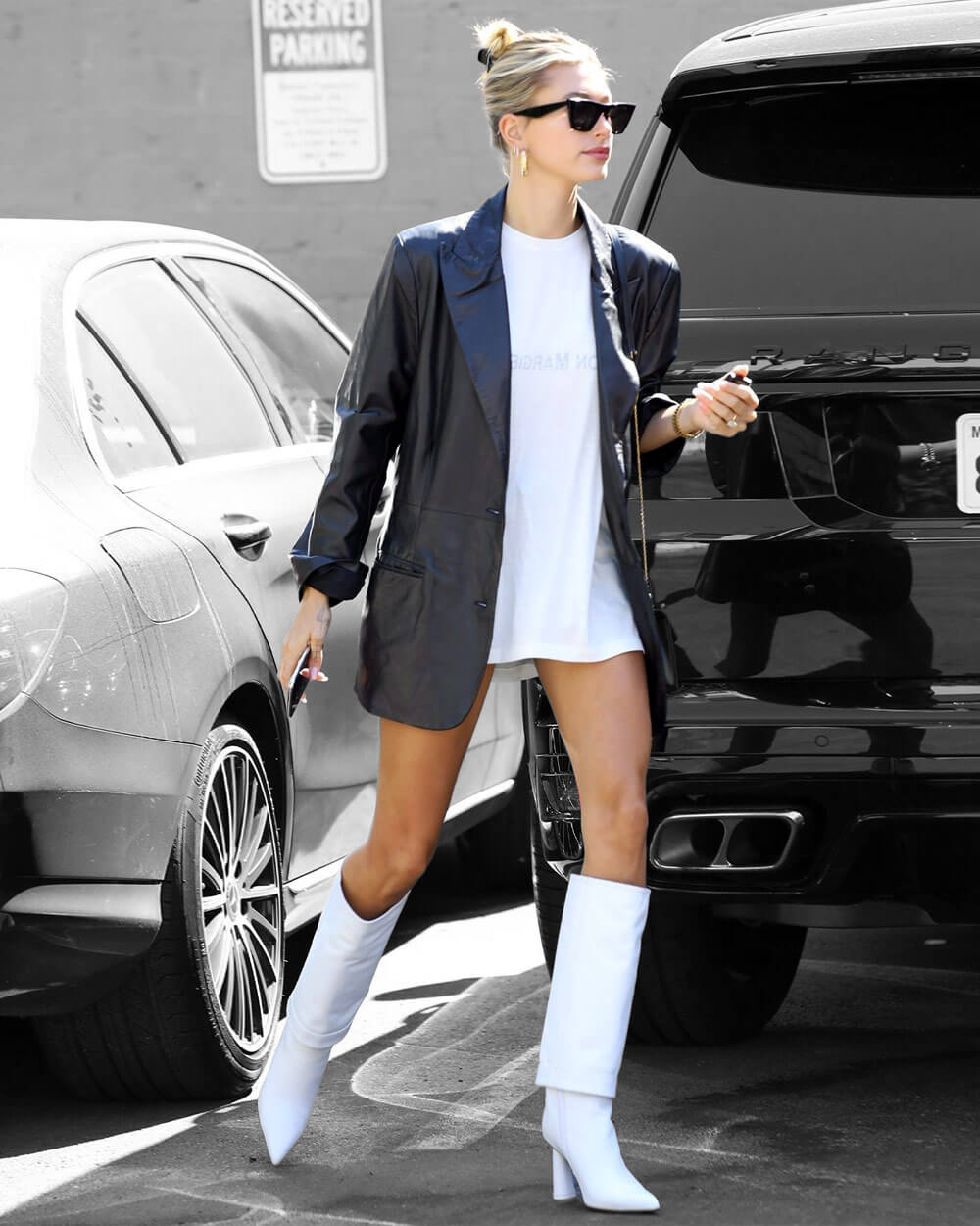 White Knee-High Boots fashion trends