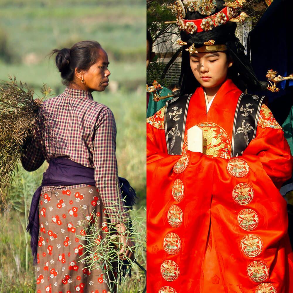 Korean Farmer vs Korean royal