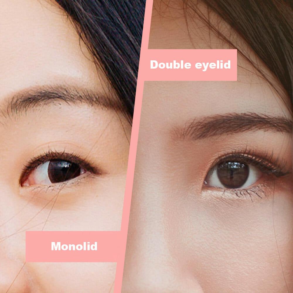 Monolids vs Double Eyelids