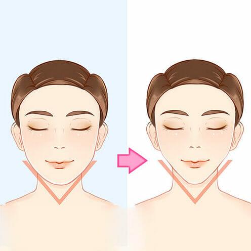 V-shape Jaw in Korean Beauty Standards