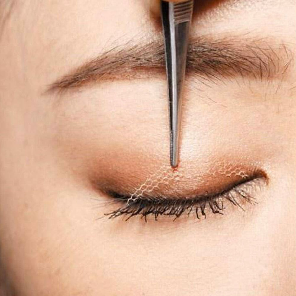 Invisible eyelid tape for double eyelids
