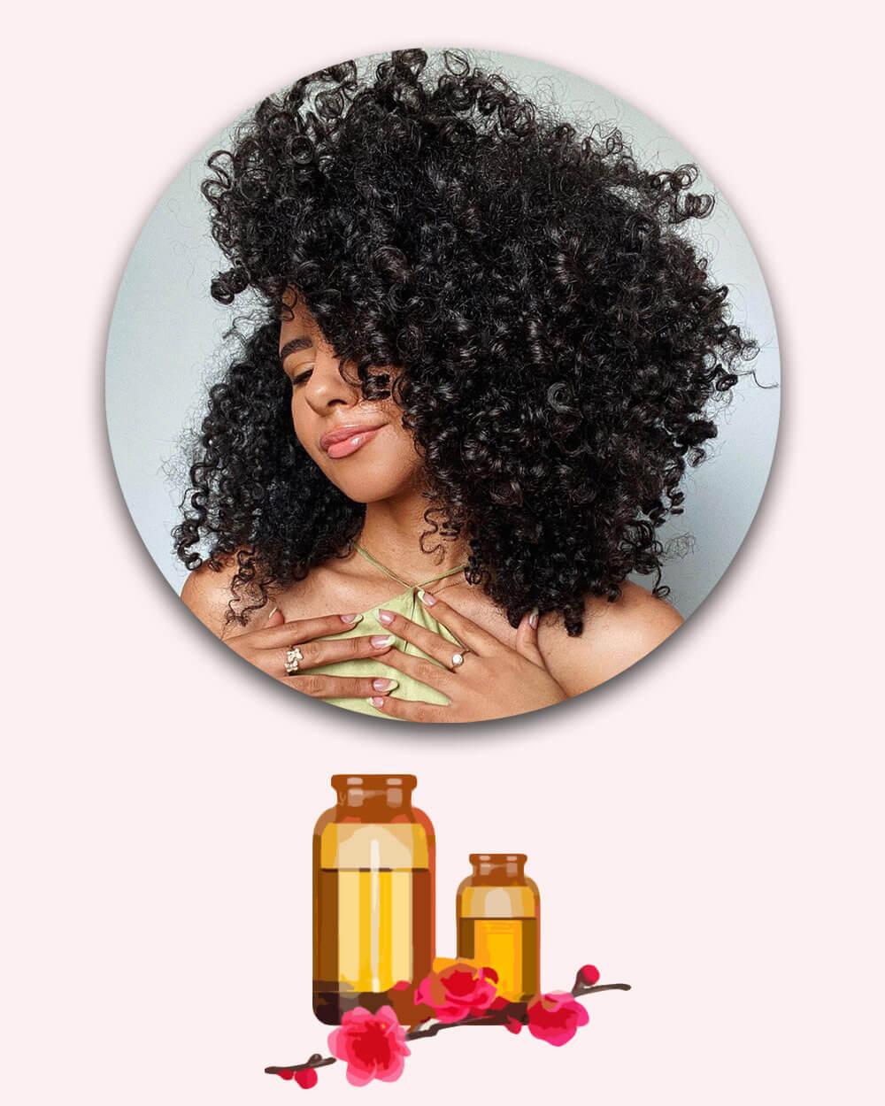 Hair oil split end treatment