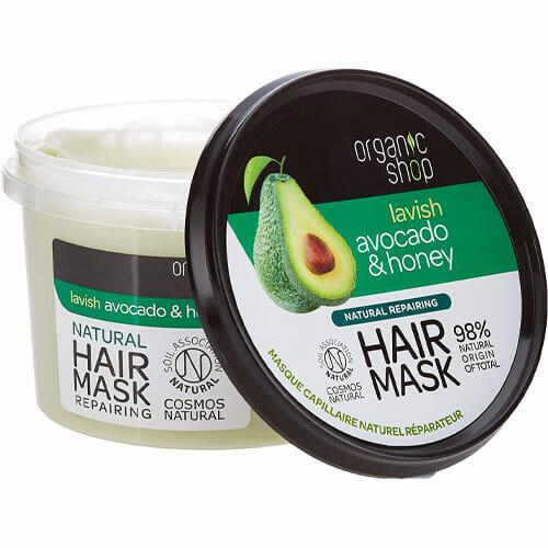 Avocado hair mask for split ends