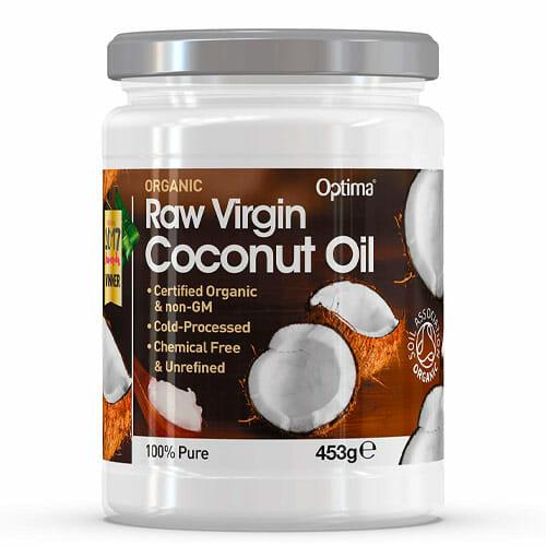 Coconut oil split end treatment