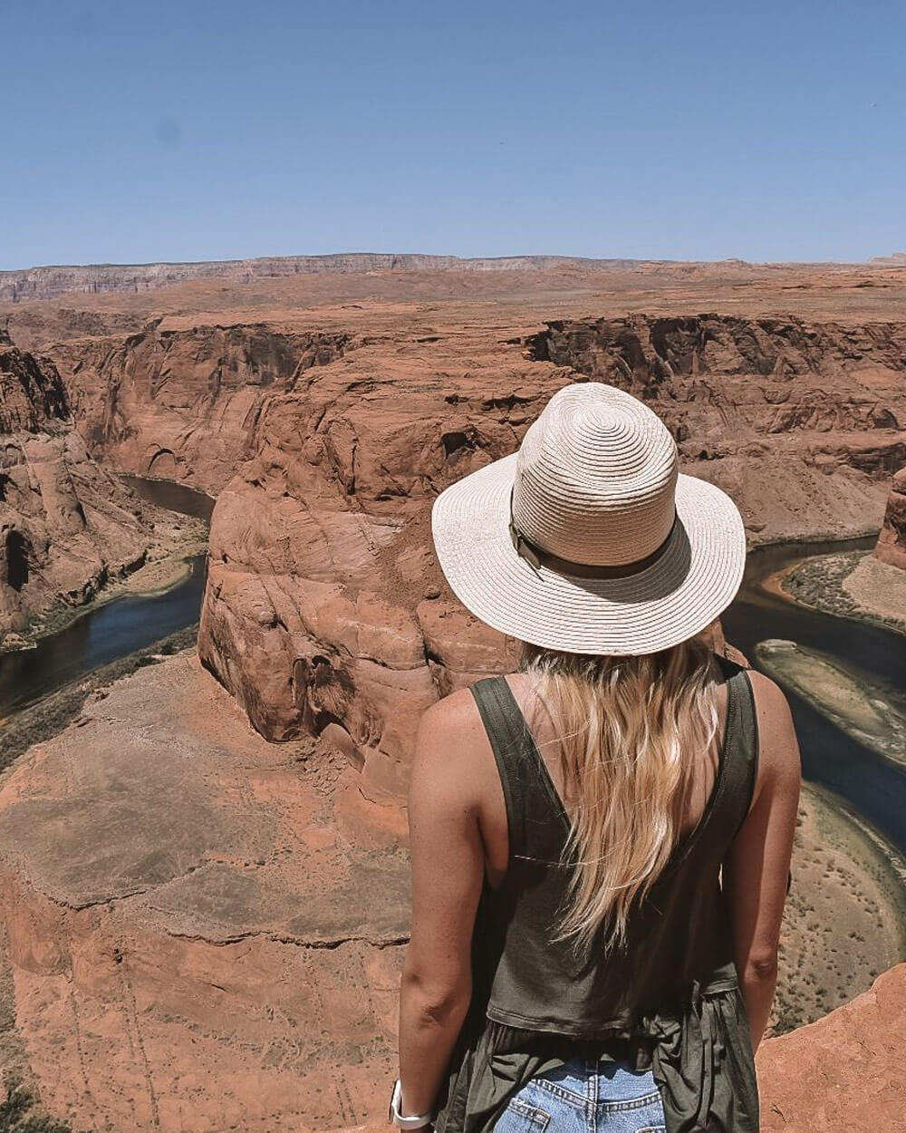 what-to-wear-hiking-A-brimmed-hat