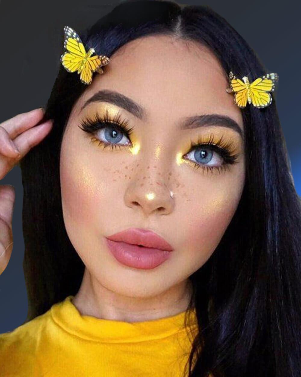 E girl makeup