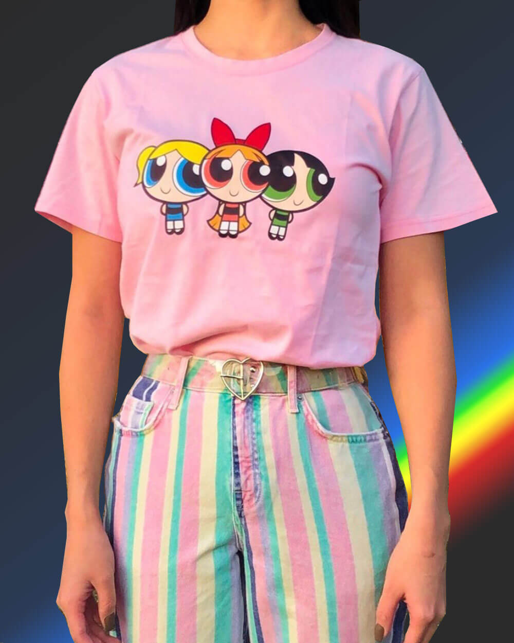 E-girl outfits oversized T-shirt