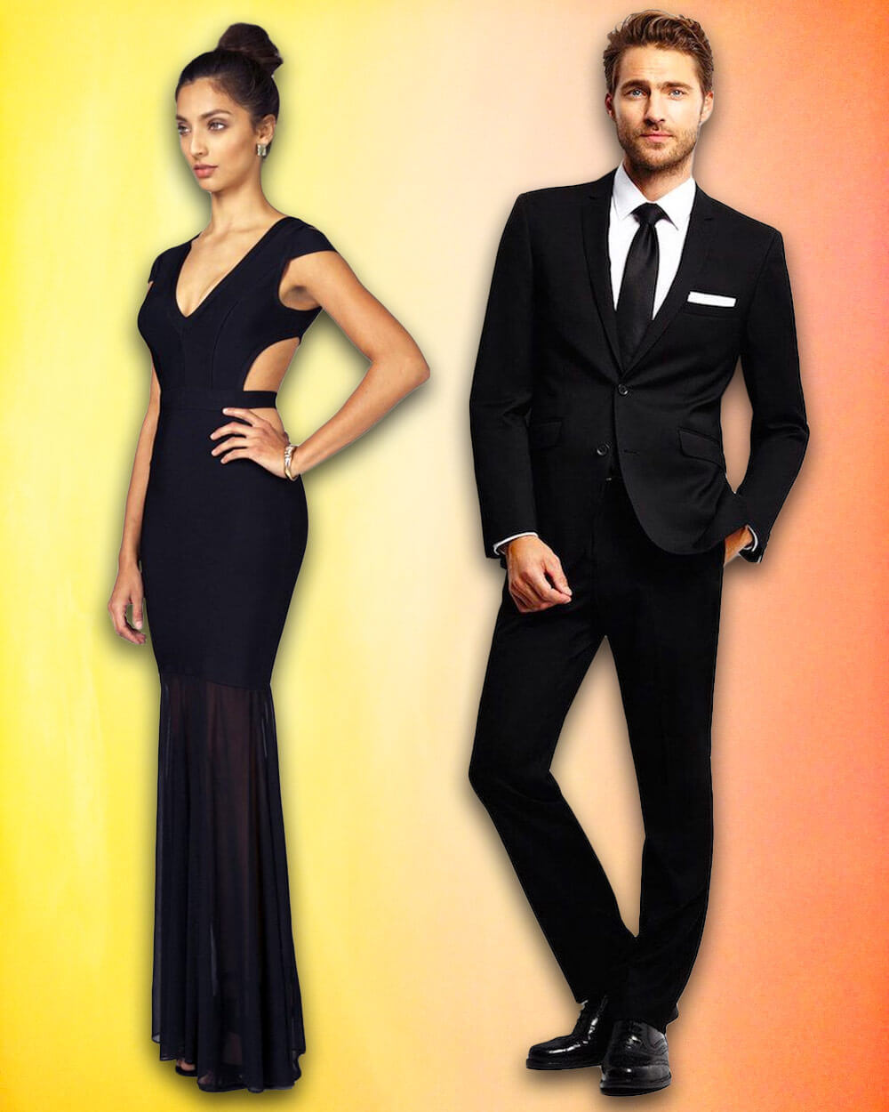 Black-tie Casino outfits