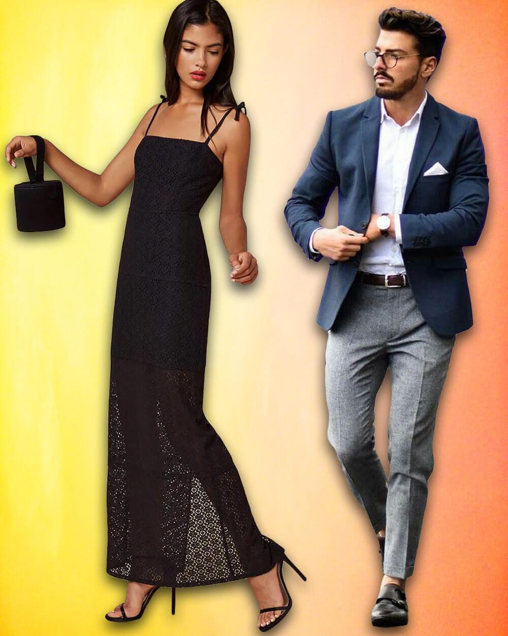 Semi-formal casino fashion and clothing