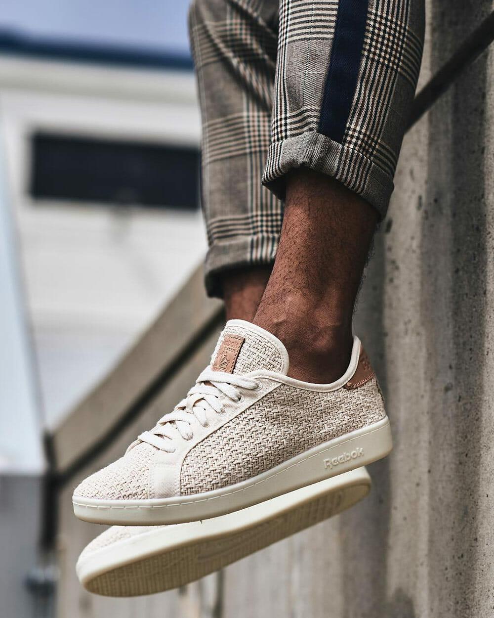 Rebook Cotton + Corn sustainable sneakers
