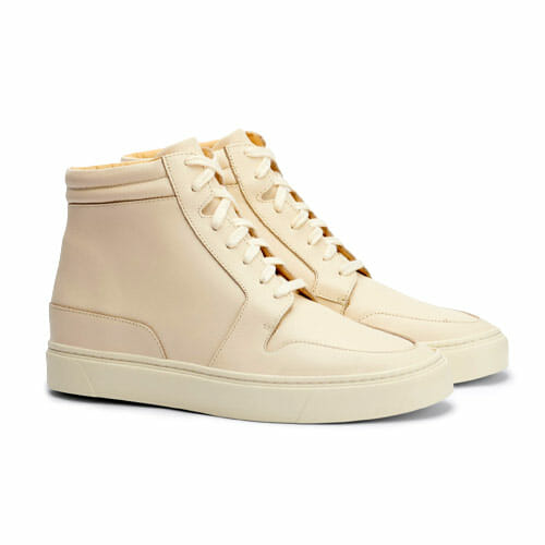 Nisolo sustainable sneakers for women