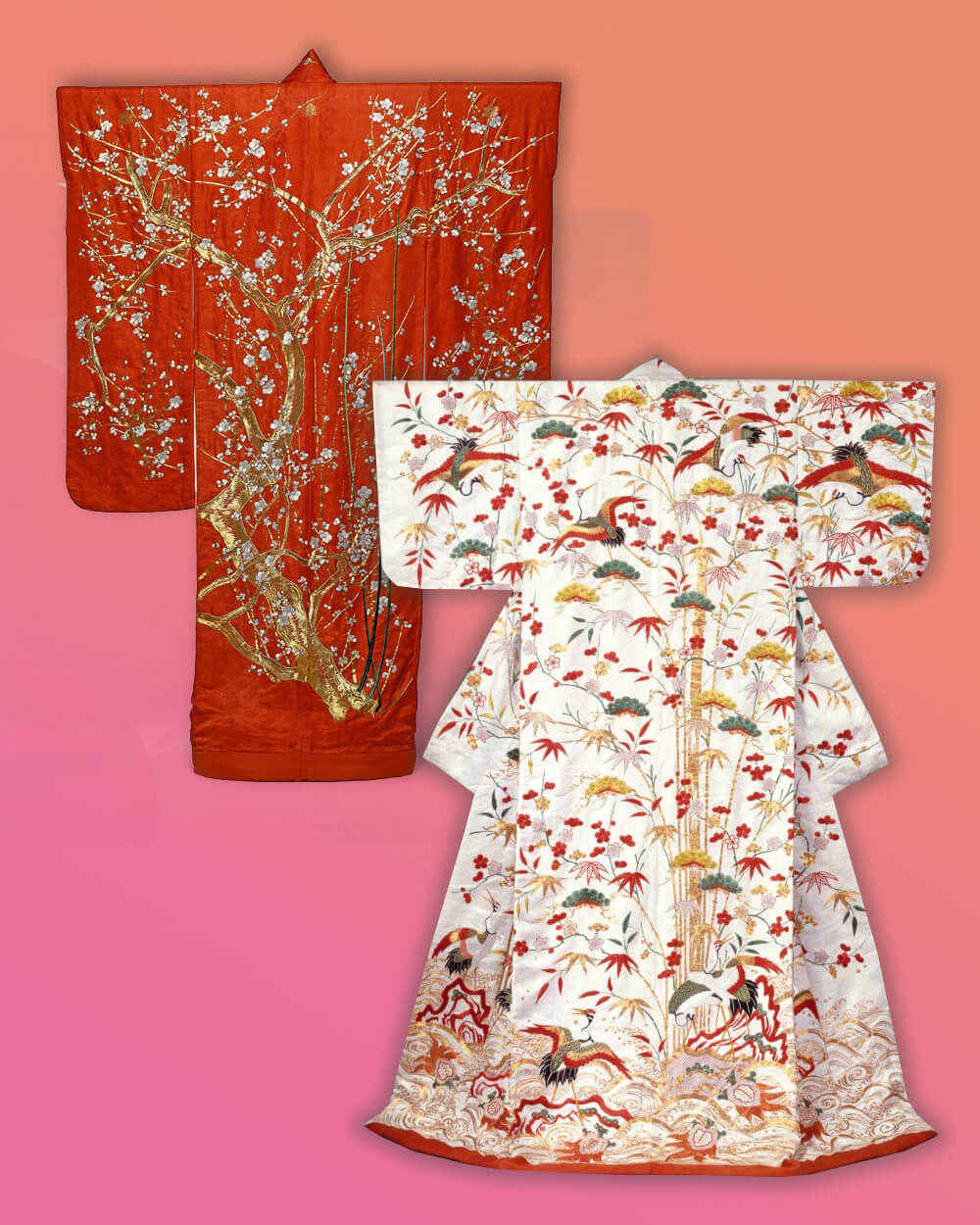 kimono and yukata Shape differences