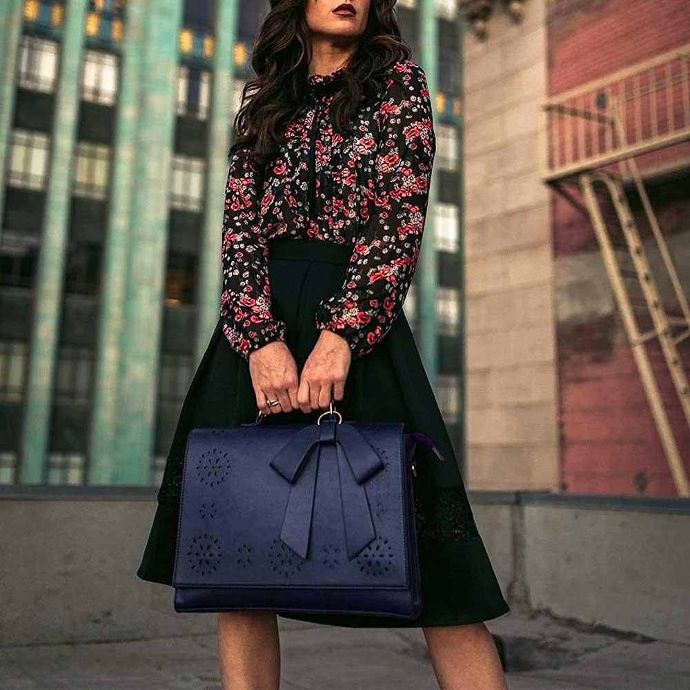 ECOSUS Briefcase Laptop Bag for Women
