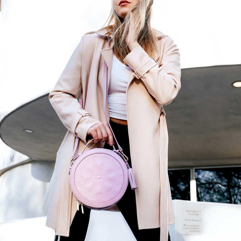 GUNAS Rotunda Vegan Leather Handbag