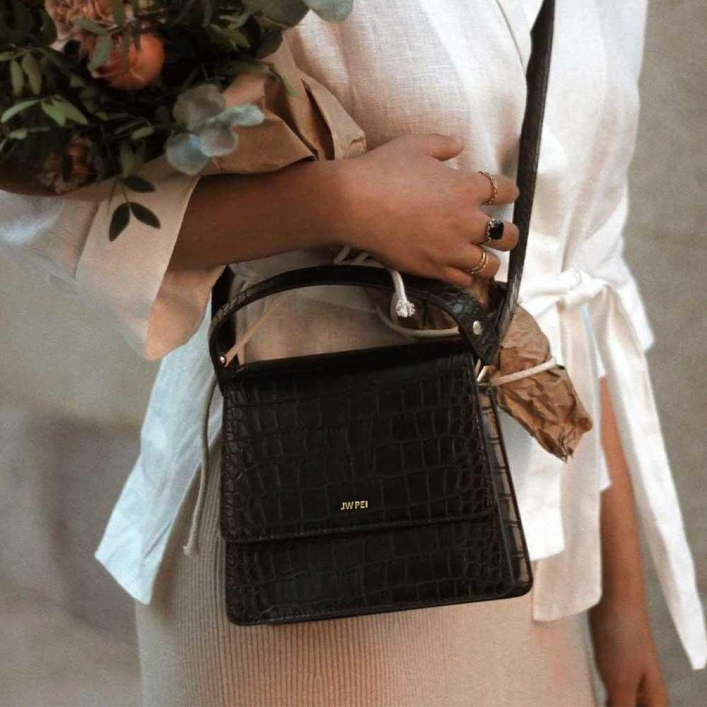JW PEI The Fae Top Handle Vegan Leather Bag