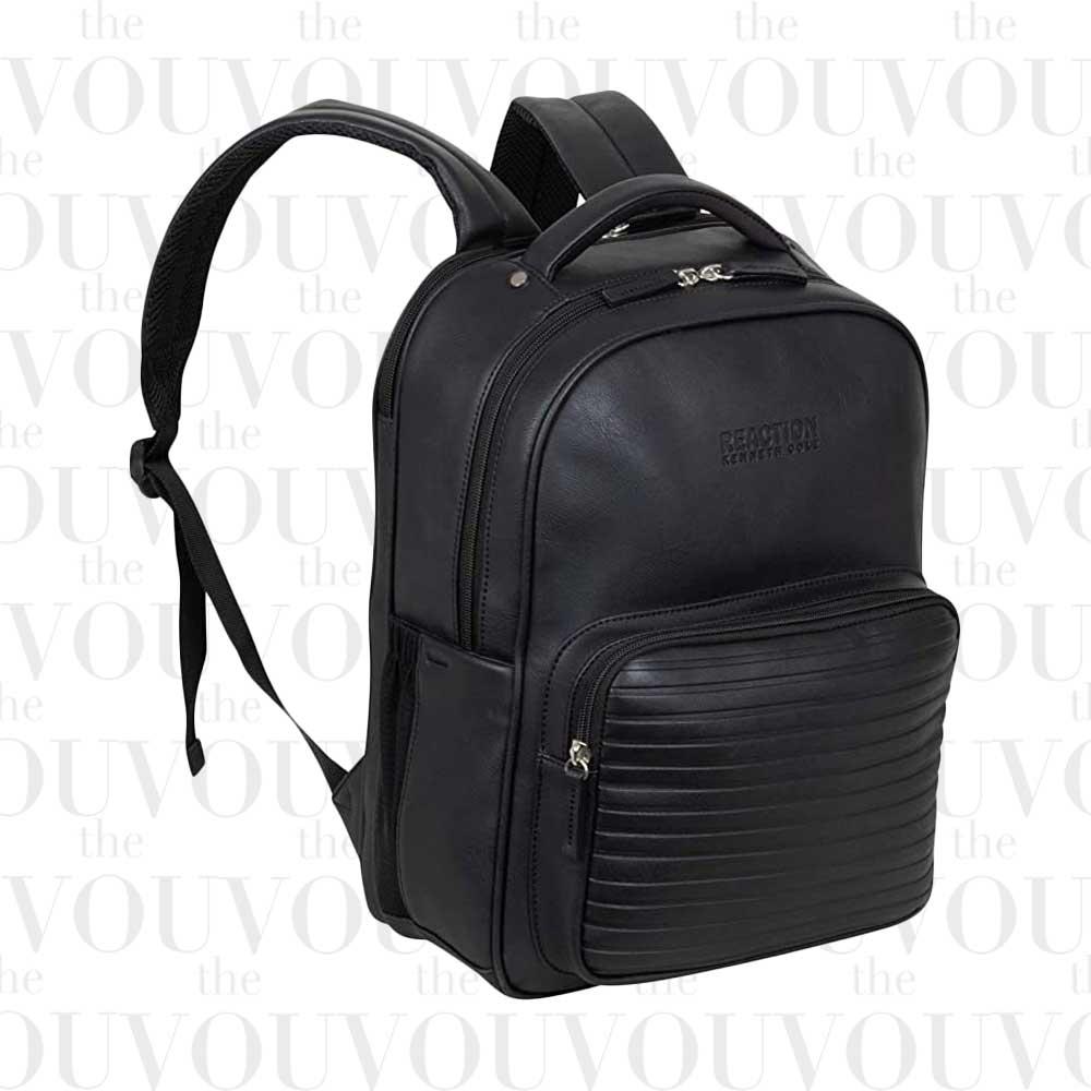 KENNETH COLE On Track Pack vegan leather Laptop & Tablet Backpack
