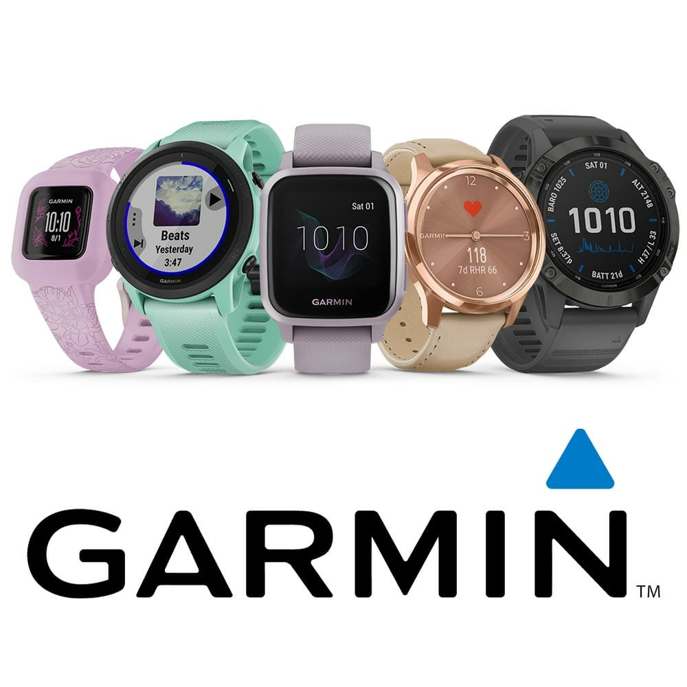 Garmin Wearable Trackers and smartwatches