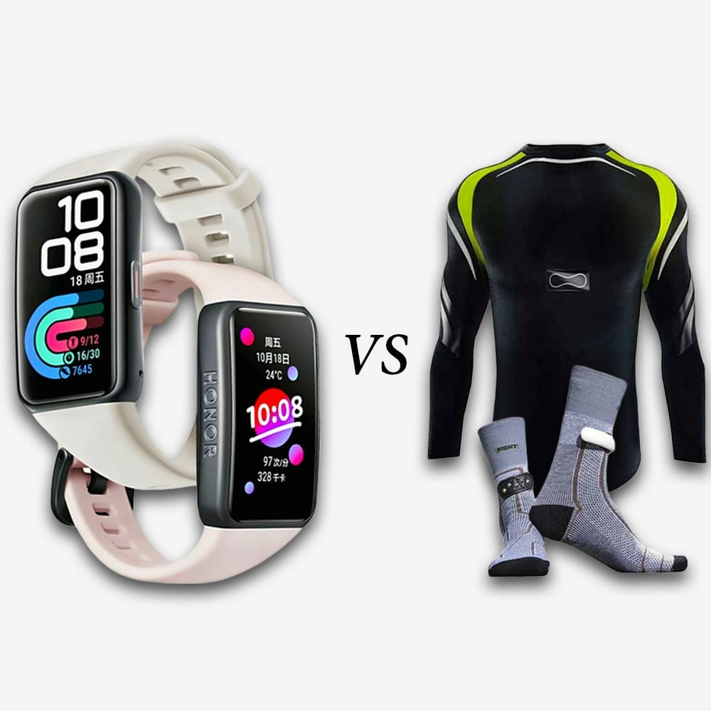 Fitness trackers vs smart clothing