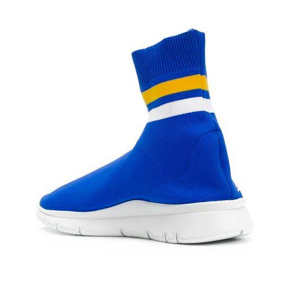 Joshua Sanders Sock Sneakers-Blue