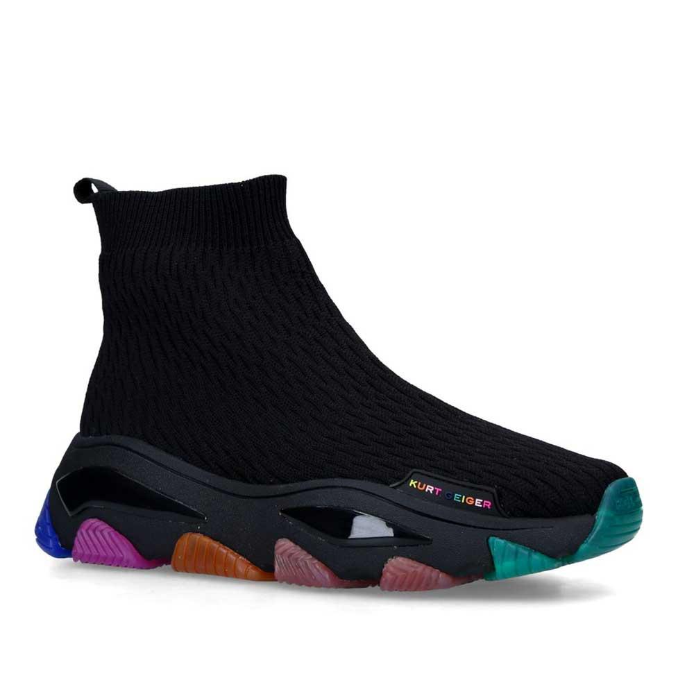KURT GEIGER LONDON Lettie Knit Sock Sneakers