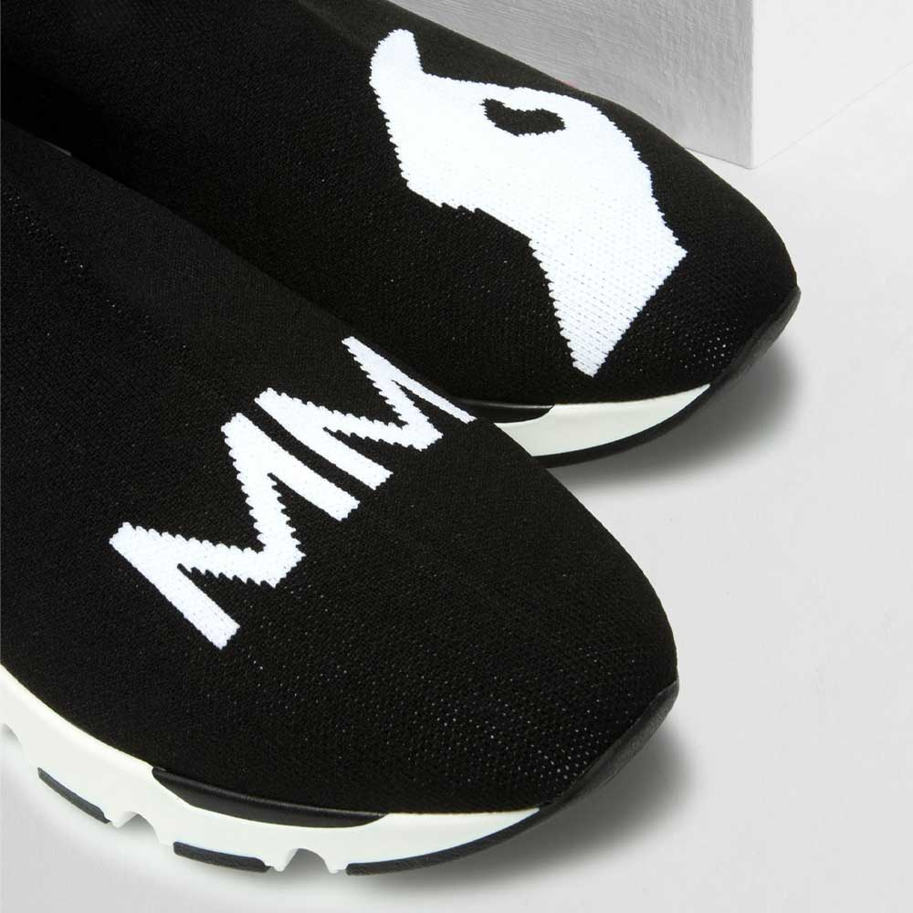 MM Logo sock sneakers