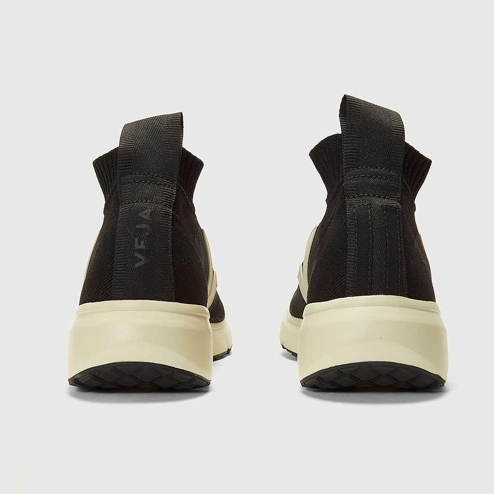 RICK OWENS X VEJA Sock Runner Sneakers (Black)
