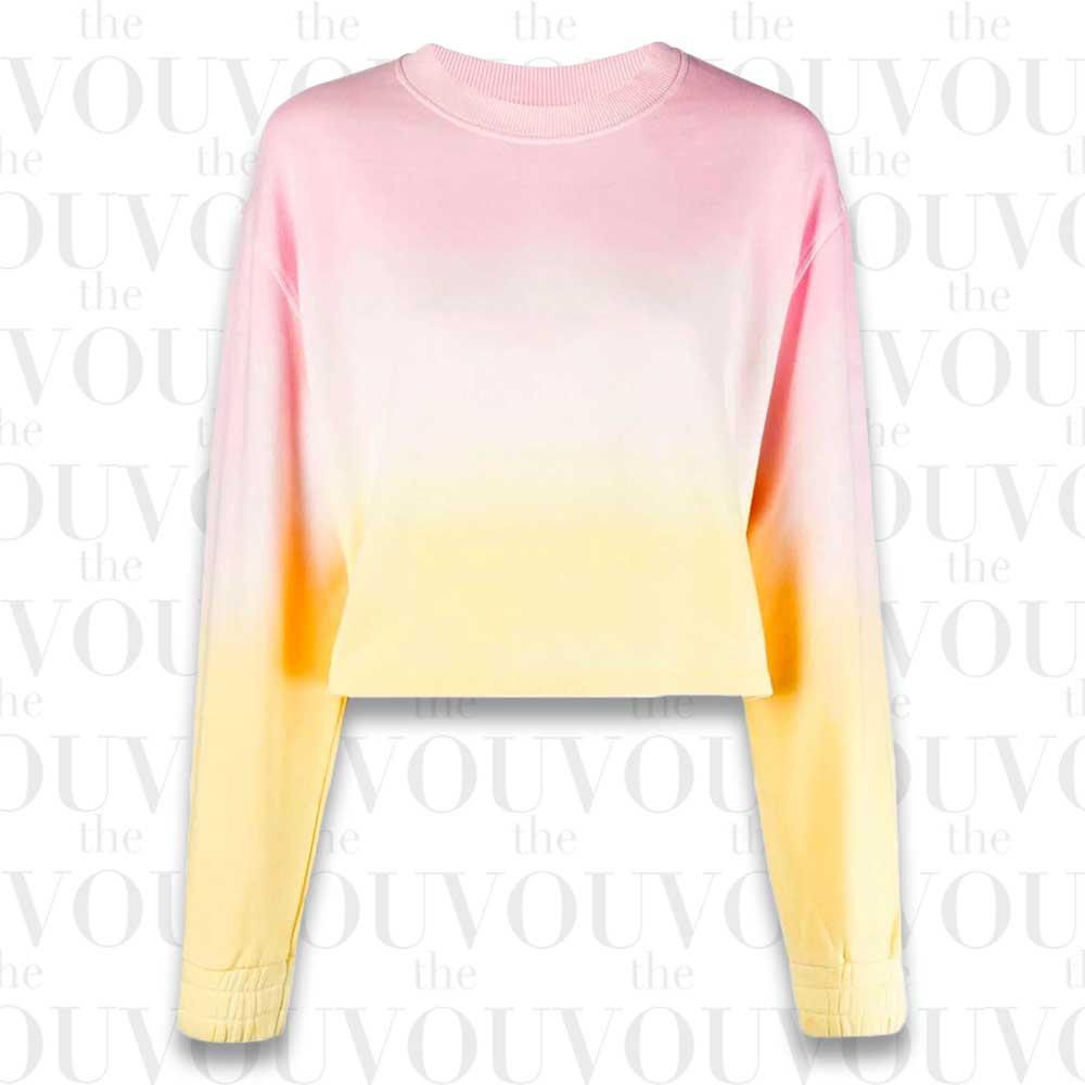 Apparis Karine Ombre Organic-Cotton Sweatshirt