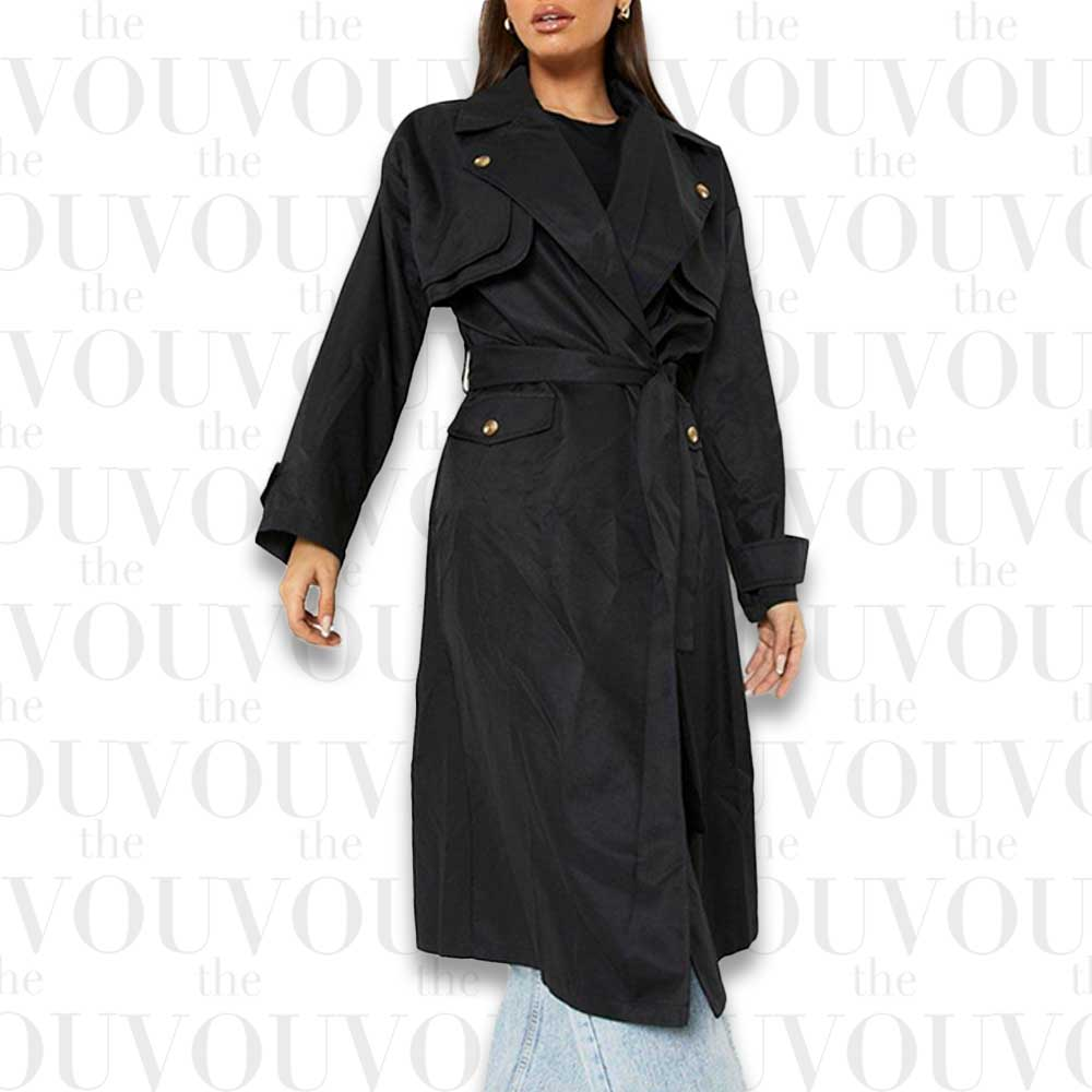 Fashion trends: Double Layer Trench Coat