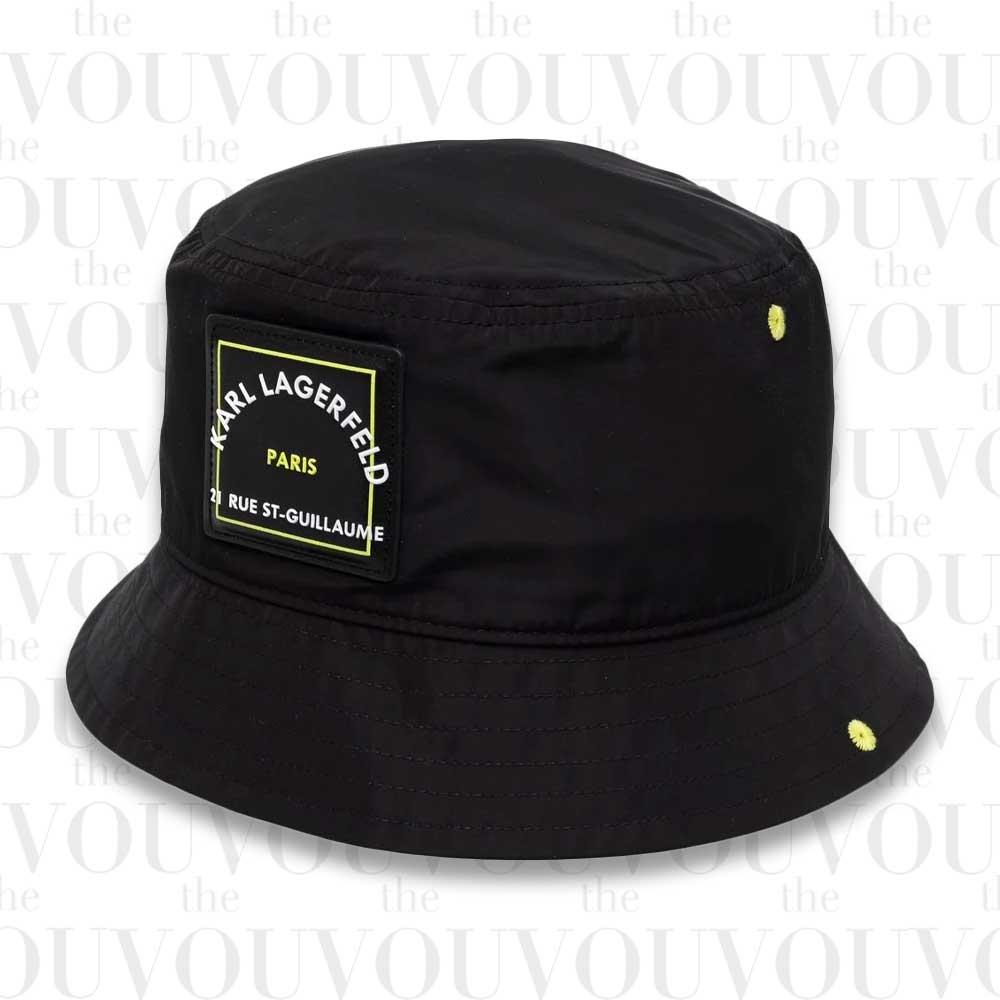 Karl Lagerfeld Logo-Patch Bucket Hat