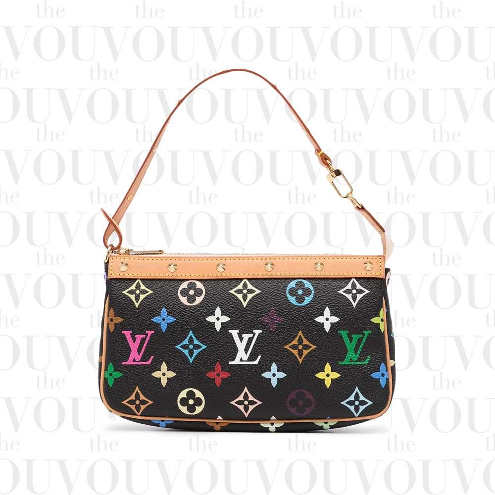 Louis Vuitton x Takashi Murakami 2004 Pre-owned Pochette 2way Bag