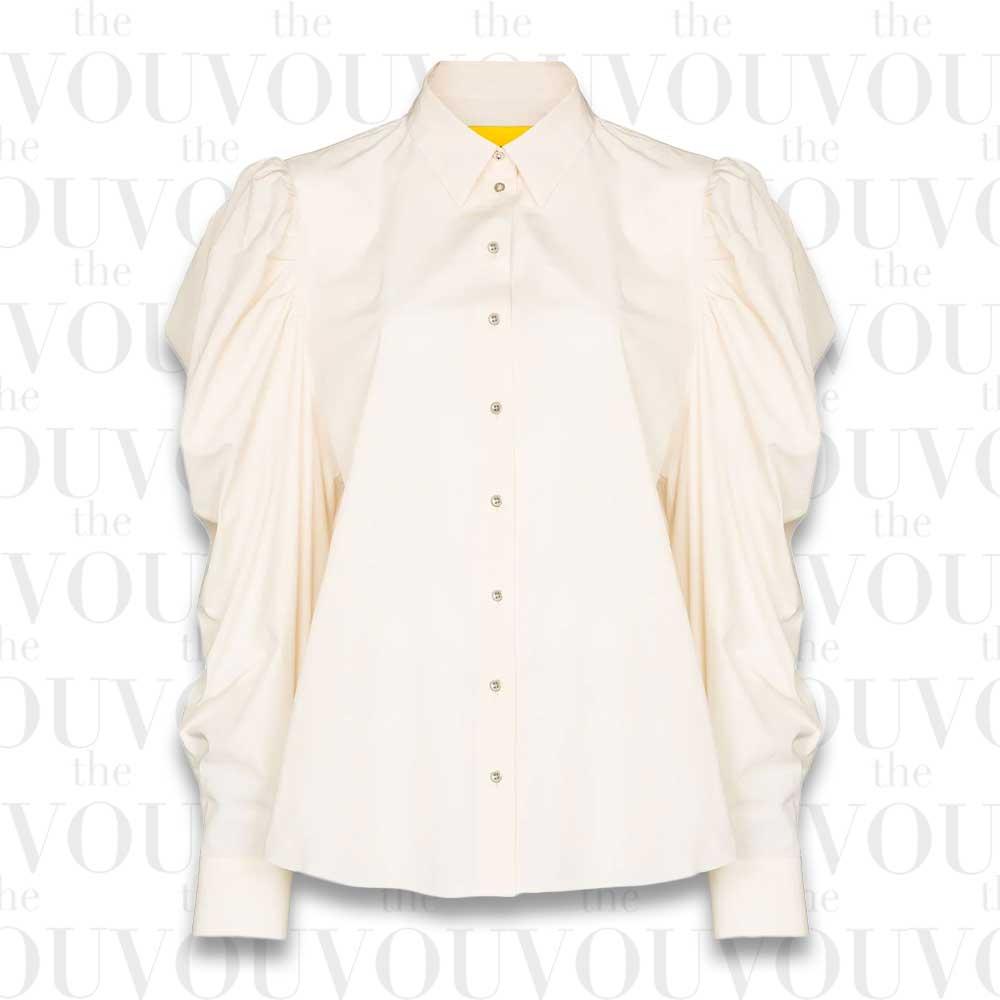 Marques'Almeida Puff-sleeve Cotton Shirt