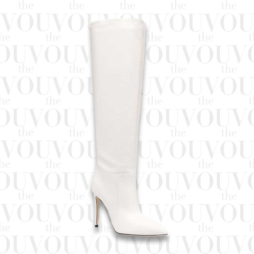 Paris Texas Pointed Knee-Length Boots