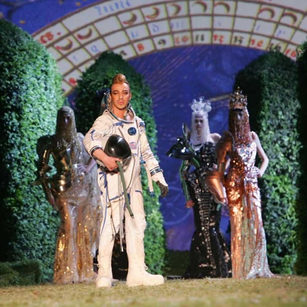 Dior Haute Couture spacesuit in 2006