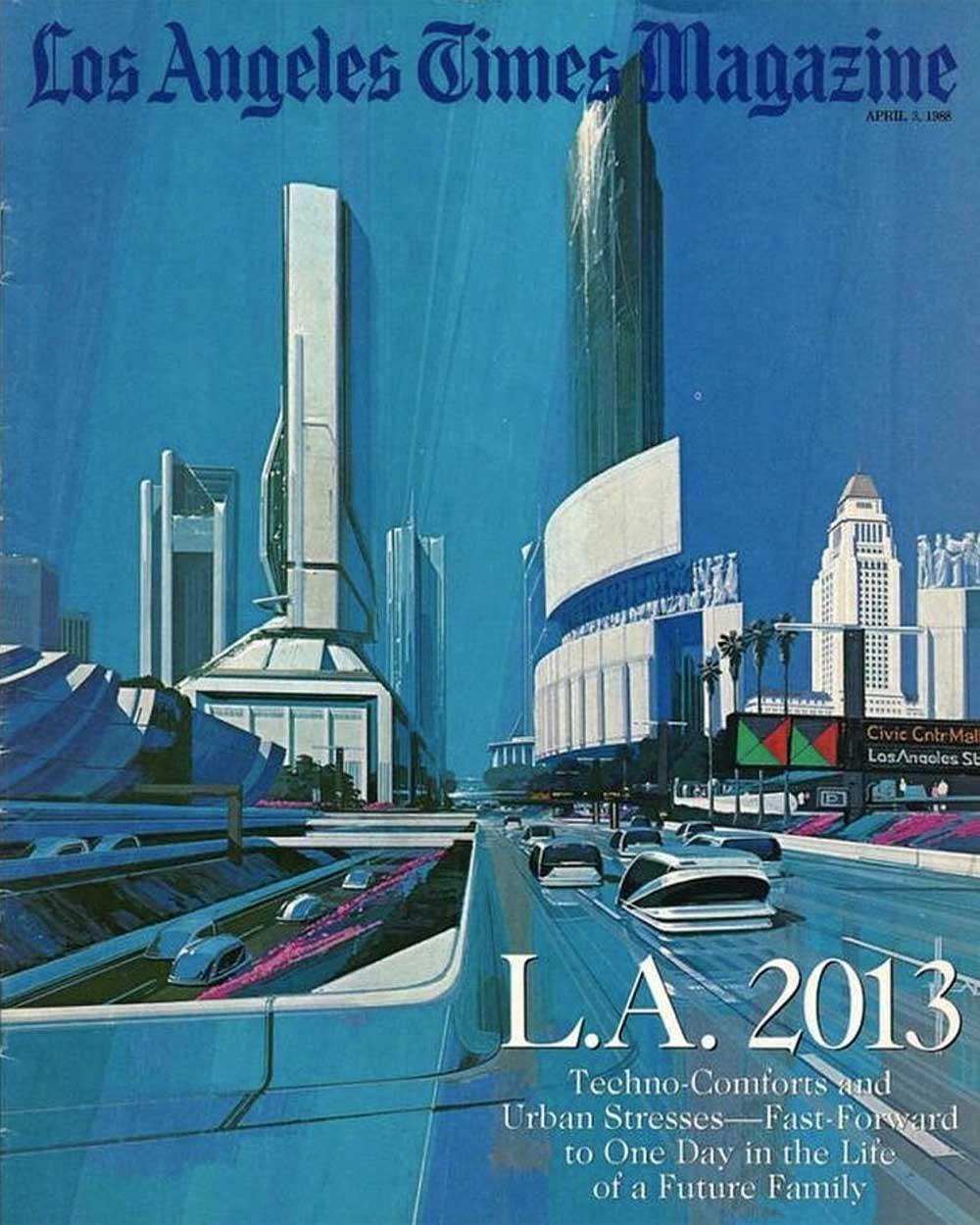 Retro Futurism Los Angeles