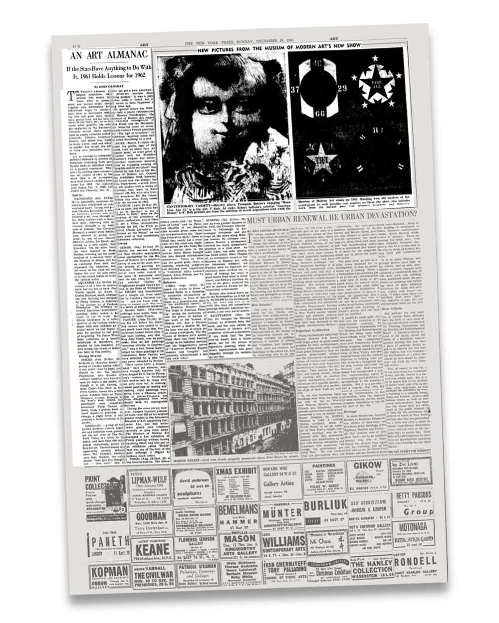 Retro futurism in New York Times, 1961