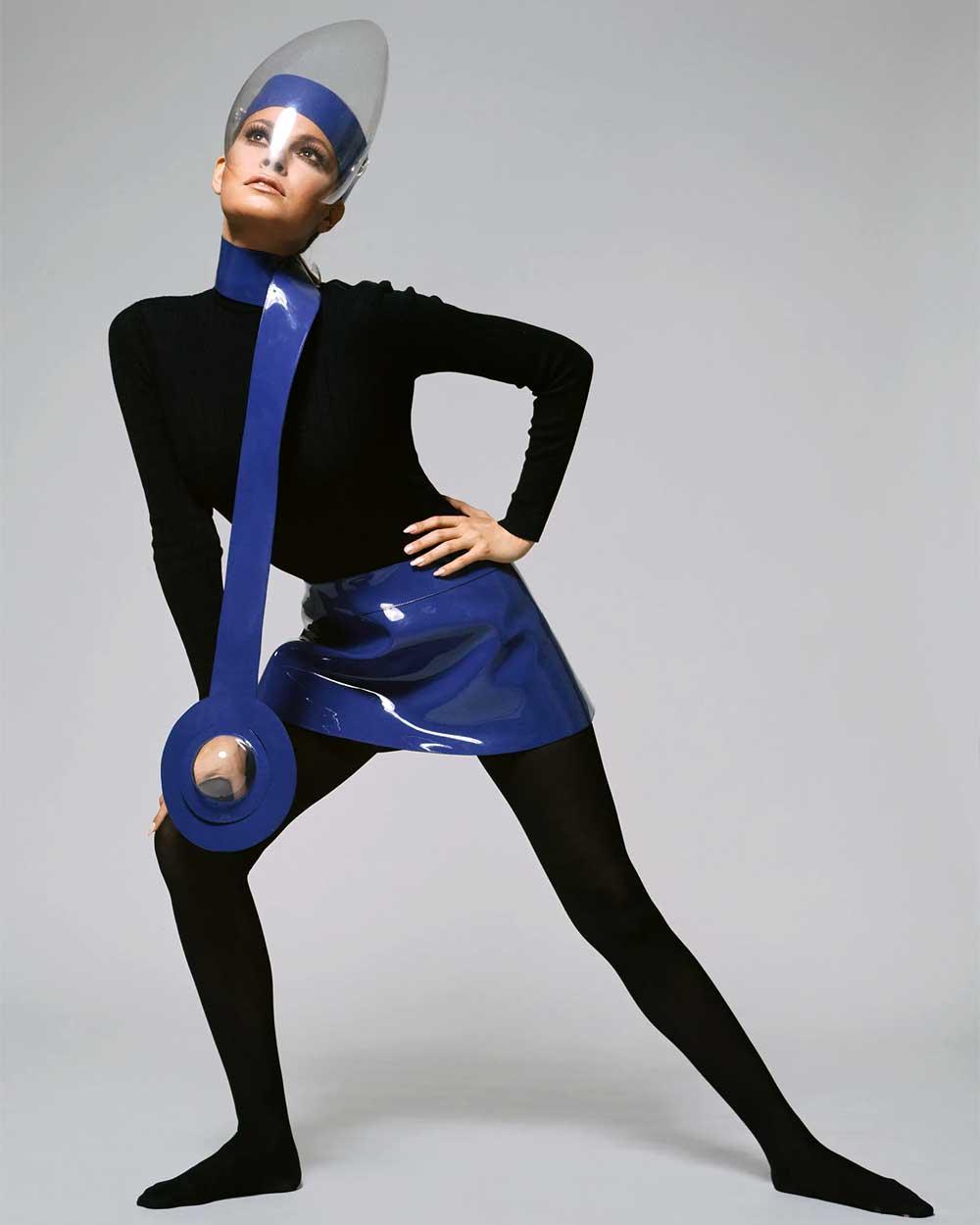 Pierre Cardin 1964 retro futurism collection
