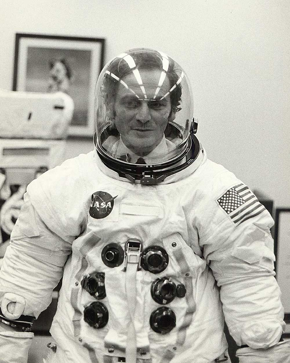 Pierre Cardin Moon Uniform for Nasa