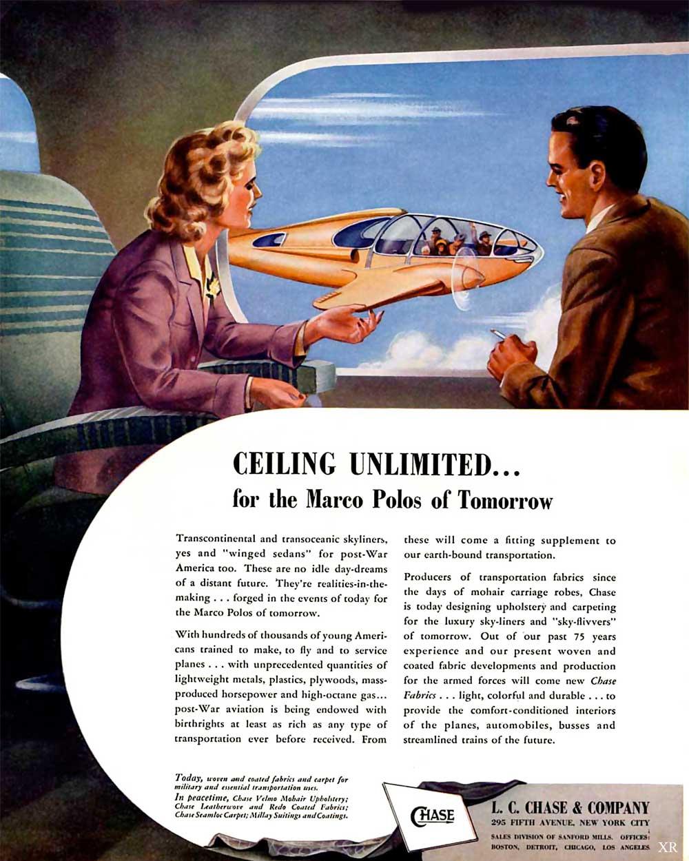 Retro-futurism in 1940s